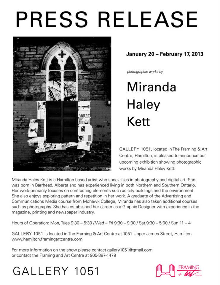 Press Release - Gallery 1501